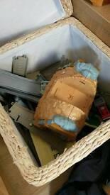 Box of Trackmaster Thomas the Tank Engine