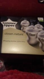 Brand new box of tommee tippee bottles