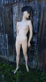 Vintage mannequin female full