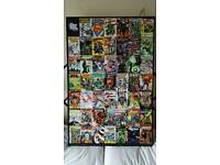 DC comics picture frame