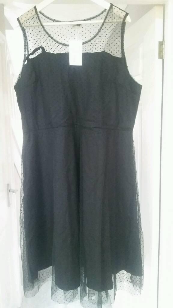 BNWT Black party dress