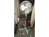 Oscillating 16 Inch Pedestal Fan