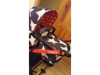 cosatto stars travel system/pushchair.