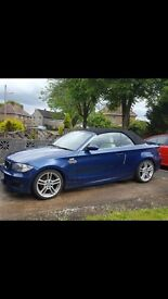 Bmw 318i m sport convertible.