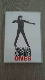 Michael Jackson number ones dvd.