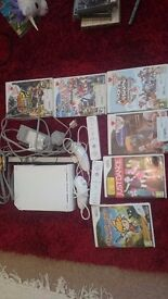 Wii bundle with 6 games