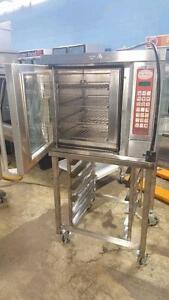 HALF SIZE CONVECTION OVEN WITH BAKERY TABLE