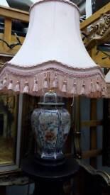 Antique vintage ornament table lamp