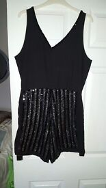 Playsuit and jumpsuit