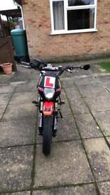 Road legal 50cc pitbike