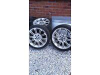 """BMW tyres 18 """" alloys"""