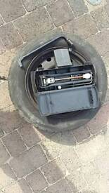 Rare Citroen Picasso spare wheel and jack