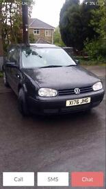 VW Volkswagen Golf 120,000. 2001 EXTREMELY MINT. MOT. SWAPS
