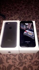 iPhone 7 32gb boxed up