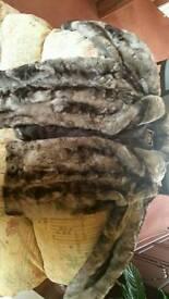 River Island fur coat
