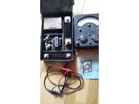 Retro test meter Avometer Model 7