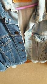 Two levi jackets
