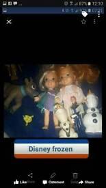 Disney Frozen doll dear snowman bundle