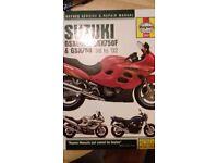 Suzuki gsx600f Haynes manual