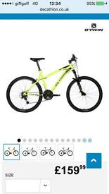 New mountain bike for sale going cheap Good Xmas present