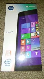 "BRAND NEW LINX 7"" 32GB WINDOWS TABLET FOR SALE..."