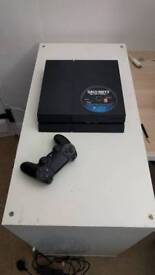 Sony PS4 with extra controller and games