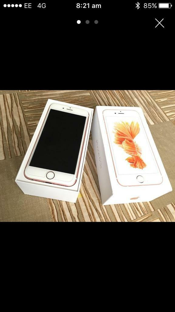 iPhone 6s 64gb on o2in Birtley, County DurhamGumtree - iPhone 6s 64gb o2 2 small scuffs on phone screen has had protective cover from new do gave original box charger and also the headphones have never been opened