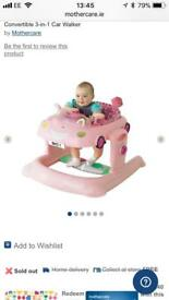 Brand new baby walker