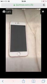 Rose gold iphone 7 32g