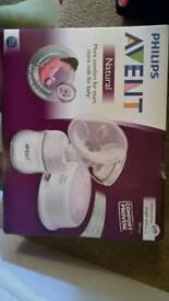 Philips Avent single electric breast pump never used