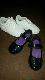 Clarkes shoes and flux trainers
