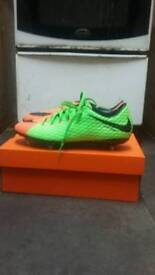 Nike Footy Boots Size 9