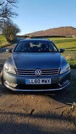 2010 VW Passat Estate with low millage and full service history