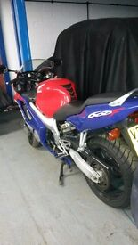 honda cbr600 very good condition spent most of it time in storage