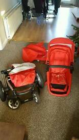 Pram/buggy/travel system- mothercare mychoice 4