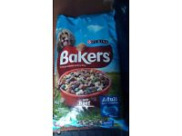 Big bag of bakers dog food has not been opened have no need for it as my dog don't like it