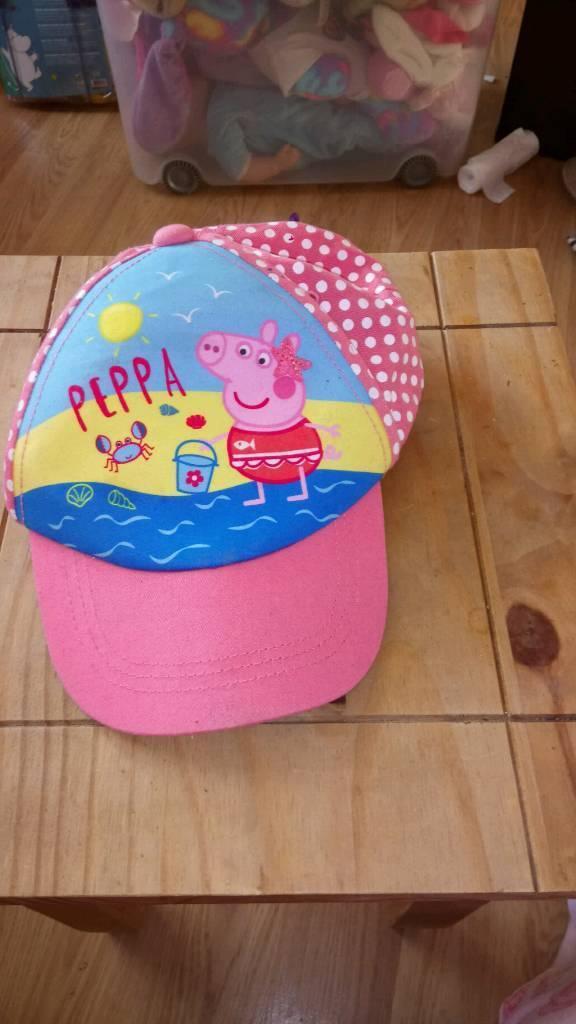 8e2dcfa27094e Peppa pig sun hat size 2