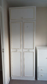 White Wardrobe for sale ( 2 available)