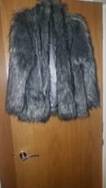 Top shop coat size 10