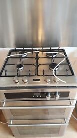 STOVES GAS OVEN clean double oven with gas hob