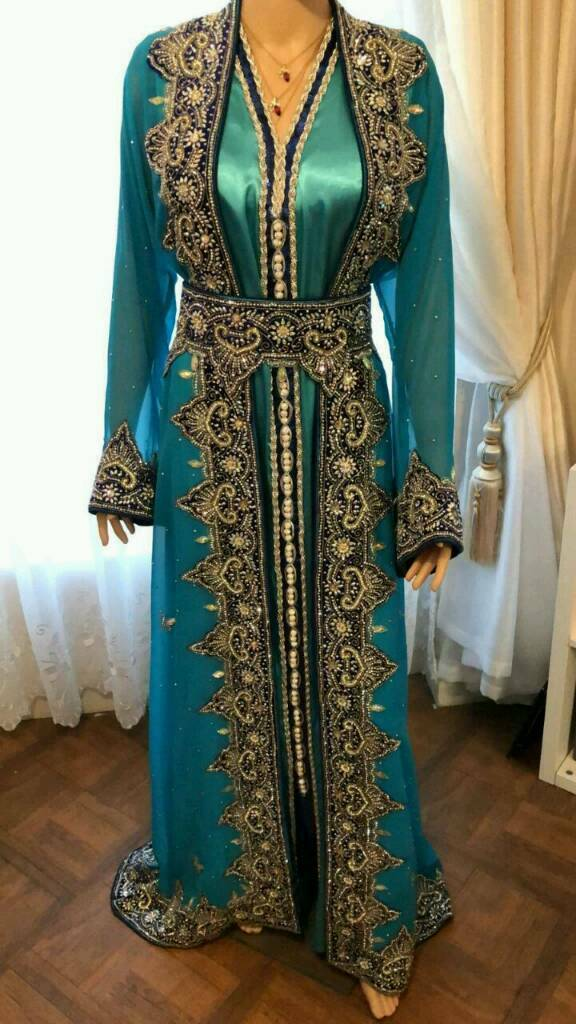 Moroccan Kaftan Wedding Dress Size14 16 18 In Plaistow London