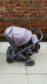 Oyster 2 pushchair in grey colour