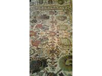 6x9 ft new zealand wool axminster good condition.