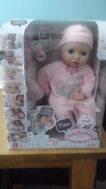 Baby Annabell interactive Doll Brand New Boxed