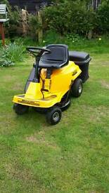 Ride on mower lawnmower fully working order serviced