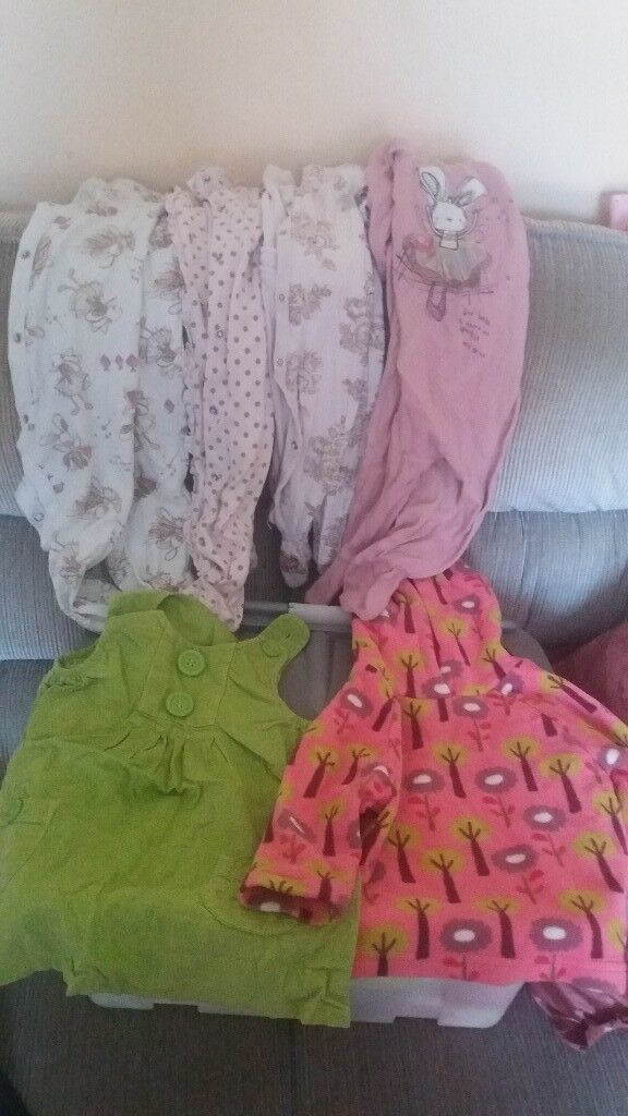 Girls 6-9 months bundle of clothes