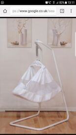 Baby hammock and bouncer in one