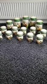 Spice and storage jars
