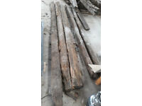 Reclaimed trusses and rafters
