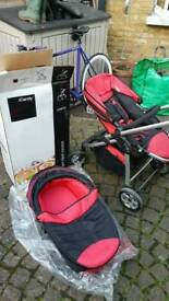 Icandy cherry pram/holder